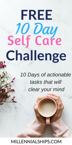 all 10 days in one PDF. 10 Actionable tasks that will help clear your mind. Millennialships has dating advice, relationship advice and self care info for millennial women. Self Care Worksheets, Self Care Activities, Marriage Advice, Relationship Advice, Dating Advice, Anxiety Relief, Stress Relief, Depression Self Help, Understanding Anxiety