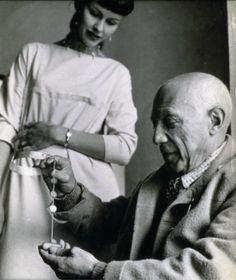 Vivianna Torun Bülow Hübe and Pablo Picasso