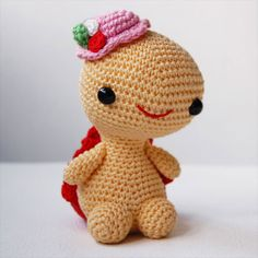 Miss Turtle - Amigurumipatterns.net