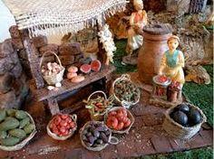 Resultado de imagen para Cestos para el Belen Nativity, Table Settings, Table Decorations, Furniture, Oven, Home Decor, Nativity Scenes, Hampers, Miniatures