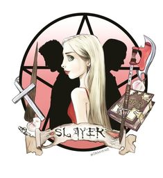 "silverspike: ""Buffy The Vampire Slayer by GinaAmyart """