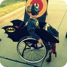 Since October is Spina Bifida Awareness month, Cassie said she's thrilled the costumes are getting so much attention. | This Mom Uses Her Son's Wheelchair To Create Amazing Halloween Costumes