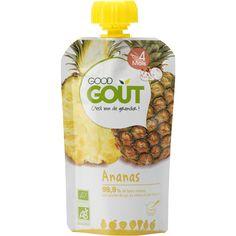 BIO Gourde Ananas Dès 4 mois 120g