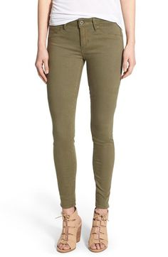 Articles of Society 'Mya' Skinny Jeans (Army) available at #Nordstrom