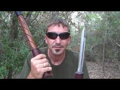 Whats a tactical walking stick? Something a hog hunter might use while trapping pigs. Camping Survival, Outdoor Survival, Survival Prepping, Survival Gear, Survival Life, Survival Skills, Camping Gear, Backpacking, Wooden Walking Sticks