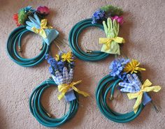 Make a Quick, Cheerful Spring WreathThoughts, Tips and Tales