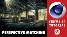 Cinema 4D Tutorial: Learn Perspective Matching in 9 minutes