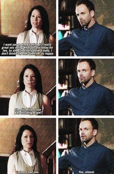Spoiler The ending of episode 5 season 2. Ancient History. as shared on fyjoanlock.tumblr.com