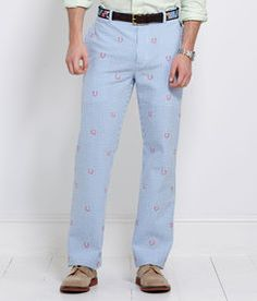 Horseshoe Gingham Breakers Pant