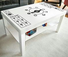 Pokemon TCG playing table. Want! Pinterest: Minimamacooper