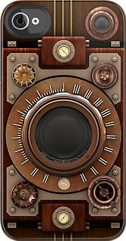 Steampunk Camera No.1A by Steve Crompton