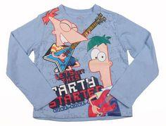 Camiseta Phineas y Ferb  Precio: 11.99€
