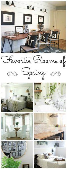 One Room Challenge Favorites: Spring 2016 - Lemons, Lavender, & Laundry