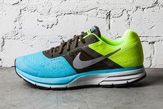 Nike Air Pegasus+ 30: Gamma Blue/Dark Loden/Neon