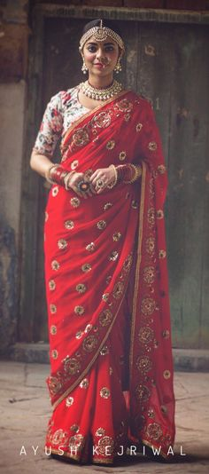 Bridal Sarees by Ayush Kejriwal