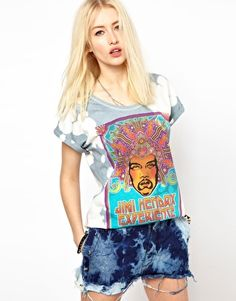 Enlarge Worn By Hendrix T-Shirt