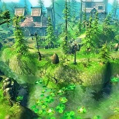 Buy Fantasy Village Environment by on Let's get started on your fantasy game with this low poly and hand-painted asset by All Most elements her. Fantasy Village, Stone Pillars, New Fantasy, Low Poly 3d, 3d Assets, Map Design, Fantasy Landscape, 3 D, Environment