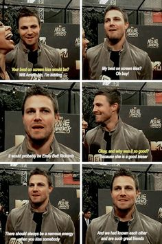Stephen #Stemily #Olicity <3
