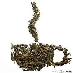 """Full-bodied, yet lightly sweet with a smooth texture and a hint of lingering chestnut. Dragonwell was mentioned by Lu Yu (733-804 A.D.) in his famous """"The Classic of Tea"""" This Dragonwell yields enough caffeine to say goodbye to your morning cup of coffee."""