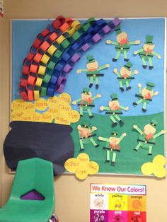 2019 year for women- St. classroom day Patricks decorations pictures