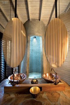 Unabashedly celebrating an often overlooked space, interior designers and architects understand both the technicalities and the art of transforming the bathroom into a place of...