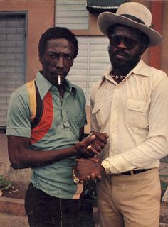 Peace Treaty Style 1978 - Bucky Marshall & Claudie Massop. Photograph by Colin Jones ©
