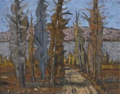 Maurice River, Latuque, PQ by Stanley Cosgrove River, Artwork, Artist, Painting, Work Of Art, Artists, Painting Art, Paintings, Paint