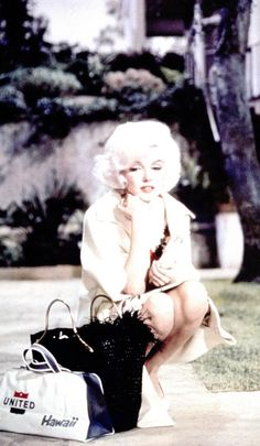 "Marilyn Monroe in ""Something's Got To Give"" 1962"