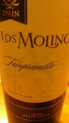 Los Molinos - Excellent Tempranillo :)