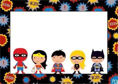 Calling all Superheros Juin us to celebrate Daniel & Illay Birthday. Hope to see all our friends Superhero Classroom, Superhero Kids, Classroom Decor, Batman Party, Superhero Birthday Party, Boy Birthday, Baby Avengers, Party Signs, Birthday Invitations