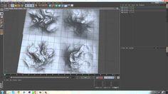 Cinema 4D: 3D Mountains Tutorial By DGFX
