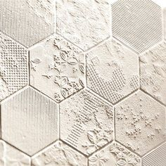 Scraps of details on these tiles by Patricia Urquiola