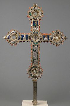 Reliquary Cross - Marches, Italy - 14th century