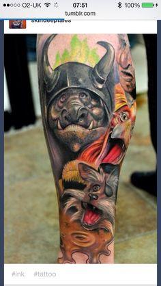 Labyrinth tattoo