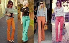 Mais #lookscomcalças http://modafeminina.biz/moda-2016/tendencias-de-calcas-femininas-da-moda-feminina-2016 #moda
