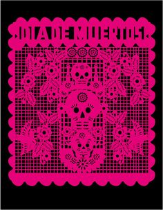 >My First Vector Papel Picado Design! | beenznriceart