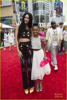 Zendaya and Skai Jackson at the Radio Disney Music Awards 2015