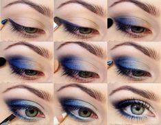 make up   #blu