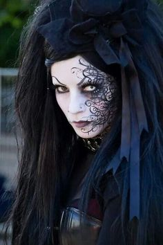 Move over feminine and pretty: we loved the mysterious gothic makeup looks seen at the Gucci fall 2013 show. Description from pinterest.com. I searched for this on bing.com/images