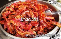 I see a rainbow coming out of this...love bacon!