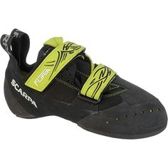 Scarpa Furia Climbing Shoe BlackLime 38 M US *** Details can be found by clicking on the image. Climbing Shoes, Sneakers Fashion, Footwear, Health Products, Men, Toddlers, Black, Racing, Search