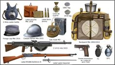 WW1 - French equipment by AndreaSilva60 on DeviantArt