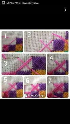 Visit our page for a whole lot more information on this eye-popping photo EmbroideryHoopCrafts Embroidery Stitches Tutorial, Hand Embroidery Designs, Diy Embroidery, Knitting Stitches, Cross Stitch Embroidery, Embroidery Patterns, Cross Stitch Patterns, Broderie Bargello, Plastic Canvas Stitches