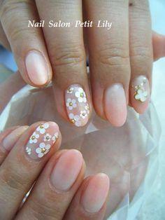 flower nails #nail #nails #nailart #unha #unhas #unhasdecoradas #floral