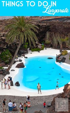 A trip to Jameos del Agua is just one of many great things to do in Lanzarote, in Spain's Canary Islands. Discover them all including shopping, culture, restaurants and luxury hotels: http://livesharetravel.com/20170/things-to-do-in-lanzarote/