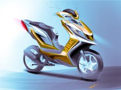 scooter 2 on Behance