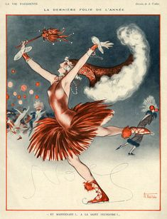 'La Vie Parisienne, 1924' by Advertising Archives on artflakes.com as poster or art print $17.33