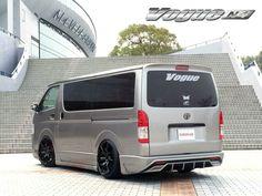 Toyota Hiace, Toyota Corolla, Hiace Camper, Toyota Vehicles, Transporter Van, Toyota Van, Cool Vans, Utility Trailer, Minivan