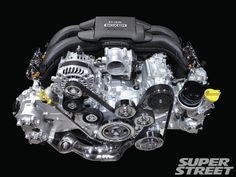 Get a quick lesson on how boxer engines work and see why Subaru and Toyota& latest creation is a force to be reckoned with. Subaru Forester, Subaru Impreza, Wrx, Motor Engine, Car Engine, Lifted Subaru, Subaru Outback, Ae86, Car Painting