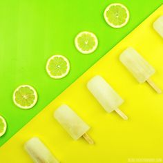 Lemonade Popsicles |